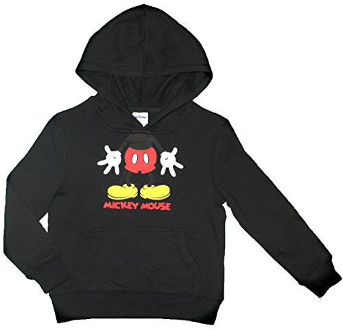Disney Mickey Mouse Big Boys Hooded Fleece Sweatshirt - SHOPME.COM