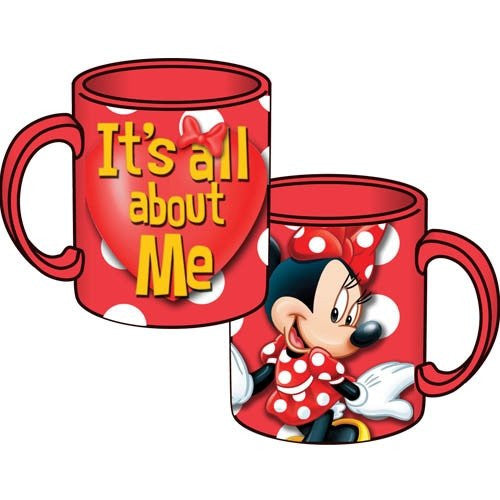 Disney Minnie Mouse It's All About Me 14oz Relief Mug - SHOPME.COM