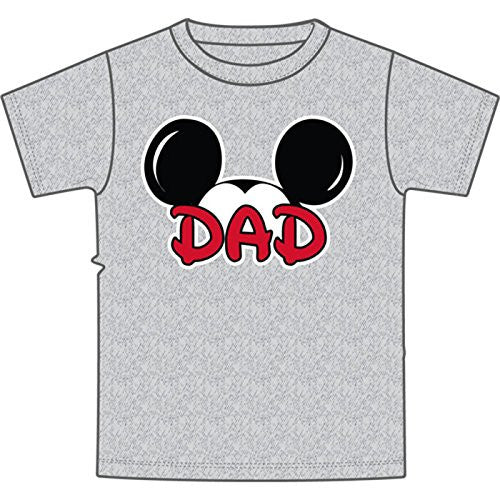 Disney Men's Mickey Mouse Dad Fan T Shirt - SHOPME.COM