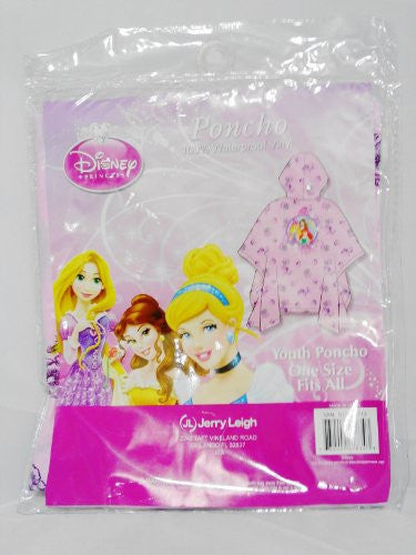 Disney Little Mermaid Aurora Belle Youth Rain Poncho - SHOPME.COM