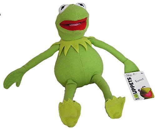 "Disney The Muppets Kermit 10"" Plush Frog - SHOPME.COM"
