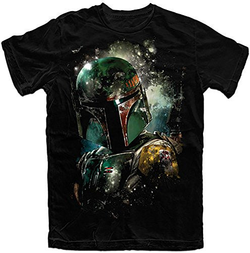Disney Star Wars Boba Fett Bounty Hunter Boys Tee, Black (X-Small) - SHOPME.COM