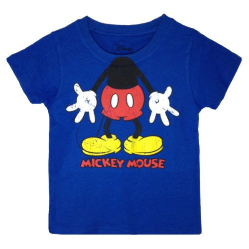 Mickey Mouse Toddler Boys Character T Shirt - SHOPME.COM