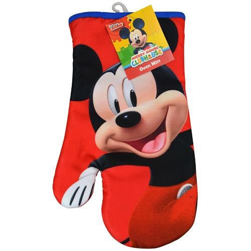 Disney Mickey or Minnie Mouse Pot Holder ; Oven Mitt ; Kitchen Hand Towel - SHOPME.COM