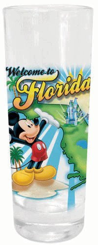 Disney Mickey Mouse Florida Sights Shot Glass