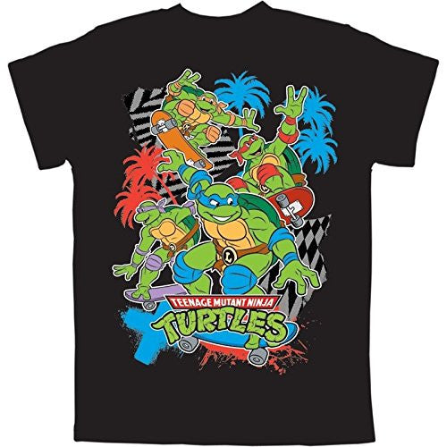 Nickelodeon Teenage Mutant Ninja Turtles Boys T Shirt - Black - SHOPME.COM