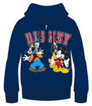 Disney Adult Fab 4 Authentic Group Zip Up Hoodie, Navy - SHOPME.COM