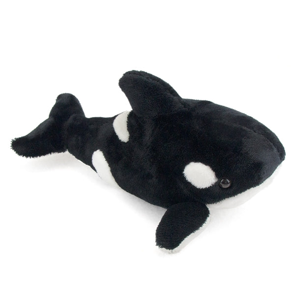 "27"" Large Orca Killer Whale Plush Stuffed Animal Toy by Fiesta Toys - SHOPME.COM"