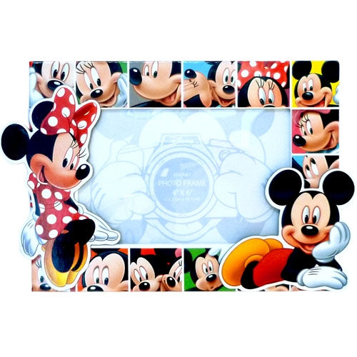 Disney Mickey Minnie Mouse Expressions Picture Frame