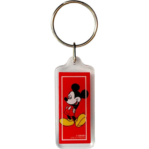 Disney Mickey Mouse Classic Mickey Lucite Keychain - SHOPME.COM