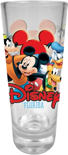 Disney Best Buds Mickey Goofy Donald Pluto Collector Glass (Florida Namedrop) - SHOPME.COM