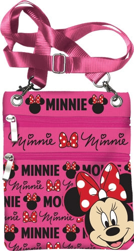 Disney Minnie Mouse Glam Passport Bag - SHOPME.COM