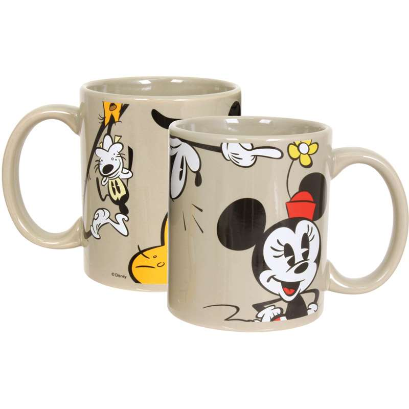Disney Mickey Minnie Goofy Donald 11oz Boxed Mug