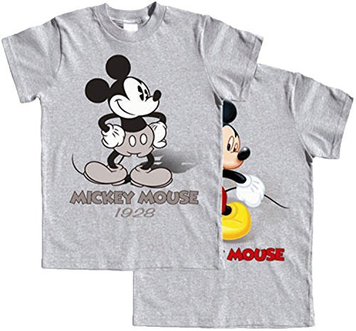 Mickey Mouse Boys 4-16 Now & Then 2-sided T Shirt - SHOPME.COM