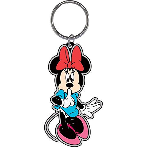Disney Minnie Mouse Shhh Lasercut Keychain - SHOPME.COM