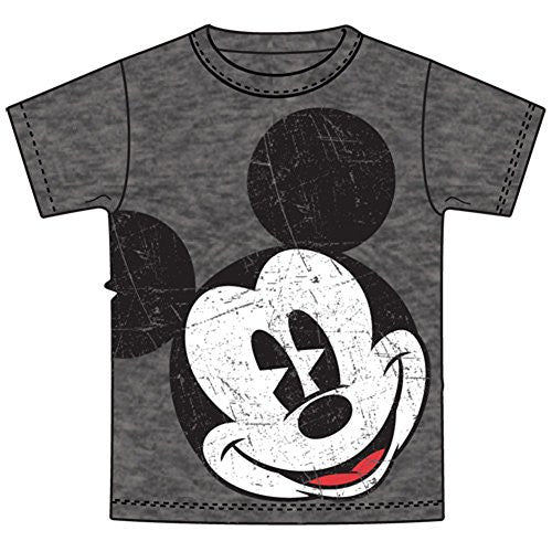 Disney Mickey Mouse Little & Big Boys Big Face T Shirt (10/12) - SHOPME.COM