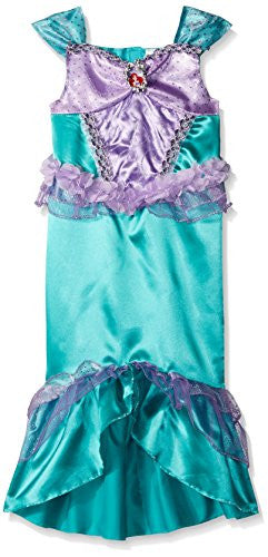 Disguise Ariel Classic Disney Princess The Little Mermaid Costume, Small/4-6X - SHOPME.COM