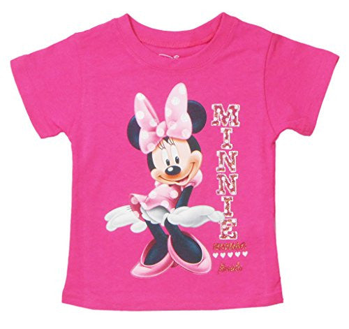 Disney Toddler Girls Sassy Minnie Mouse T-Shirt - SHOPME.COM