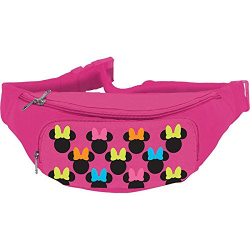 Disney Minnie Mouse Zippered Waist Pack Belly Bag - SHOPME.COM