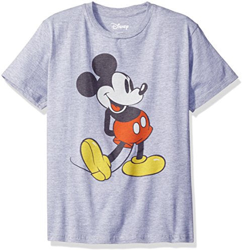 Disney Big Boys' Classic Mickey Mouse T-Shirt - SHOPME.COM
