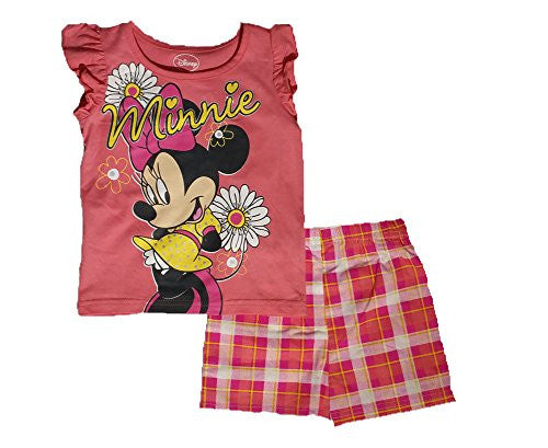 "Disney Girls' ' Minnie Mouse"" Printed Short Set"