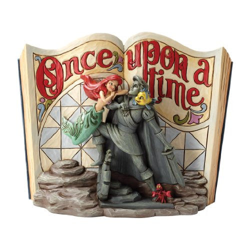 "Disney Traditions by Jim Shore The Little Mermaid Figurine ""Undersea Dreaming"" (4031484) - SHOPME.COM"