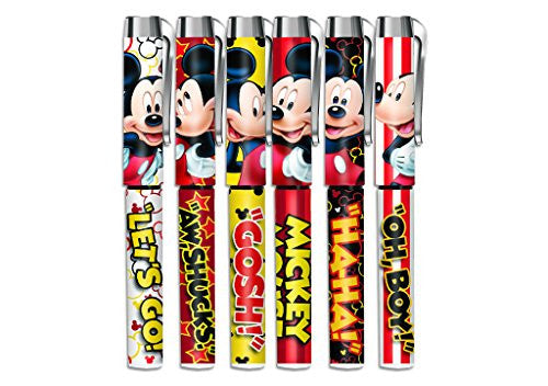 National Design Disney's Mickey 6 Pack Pens (12503-STD) - SHOPME.COM