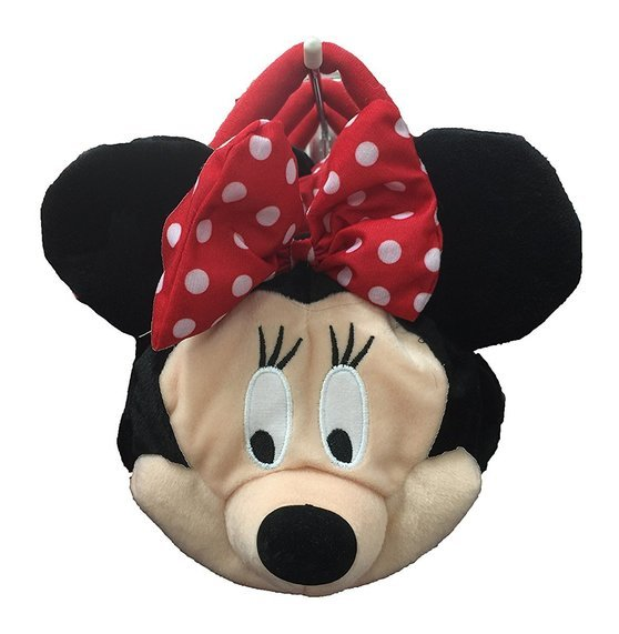 Minnie Plush Face Handbag - SHOPME.COM
