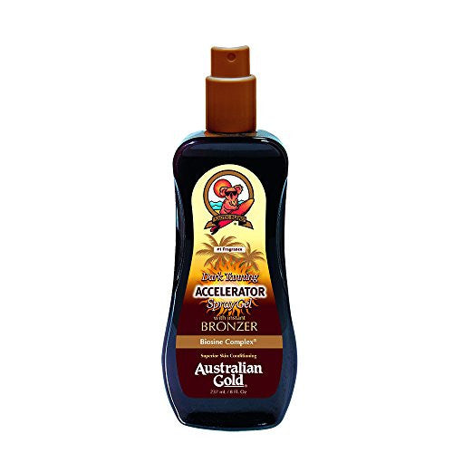 Australian Gold Dark Tanning Exotic Oil Spray, 8 fl oz - SHOPME.COM