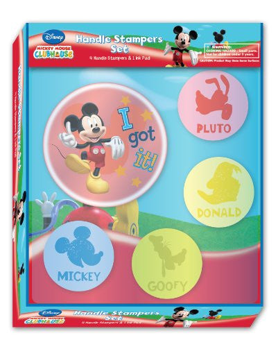 National Design Mickey Jumbo Stamper Set (12839A) - SHOPME.COM