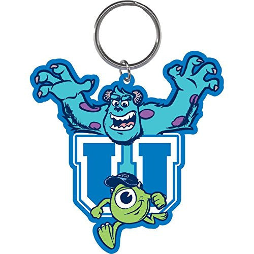 Monster University Scare Sully Mike Lasercut Keychain - SHOPME.COM