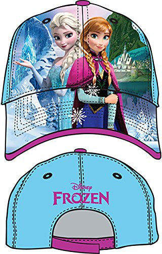 Disney Frozen Anna & Elsa Little Girls Baseball Hat