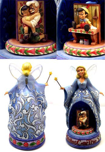 Disney Blue Fairy ''Dreams Come True'' Figurine by Jim Shore - SHOPME.COM