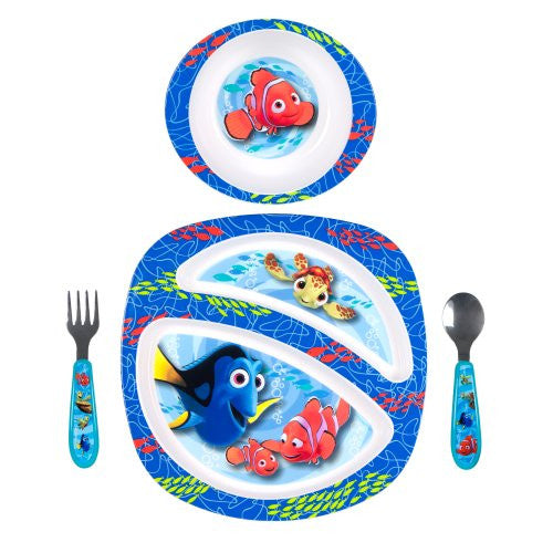 The First Years Disney Feeding Set, Pixar Finding Nemo, 4 Piece (Discontinued by Manufacturer) - SHOPME.COM