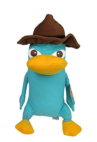 "Disney Standing Agent Perry 15"" Plush Toy - SHOPME.COM"