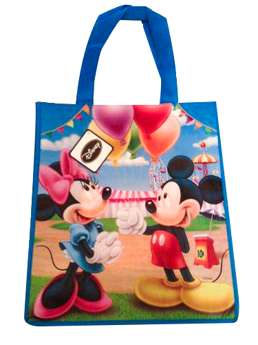 Disney - Reusable Tote Bag (Mickey And Minnie) - SHOPME.COM