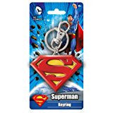 DC Colored Superman Logo Pewter Key Ring … - SHOPME.COM