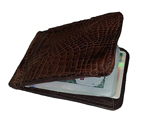 Genuine Real Alligator Skin Fashion Wallets and Accessories