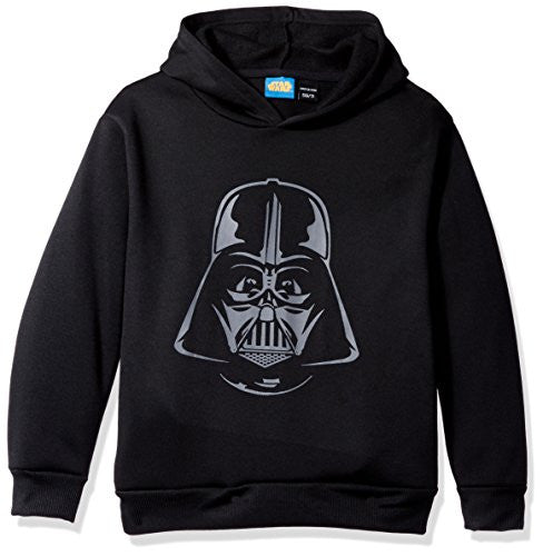 Star Wars Big Boys' Darth Vader Helmet Fleece Pullover - SHOPME.COM