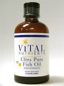 Ultra Pure Fish Oil 2600 8 Ounces - SHOPME.COM