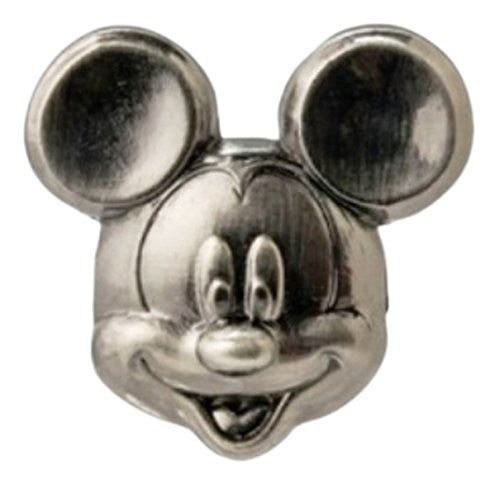 Disney Mickey Head Pewter Lapel Pin - SHOPME.COM