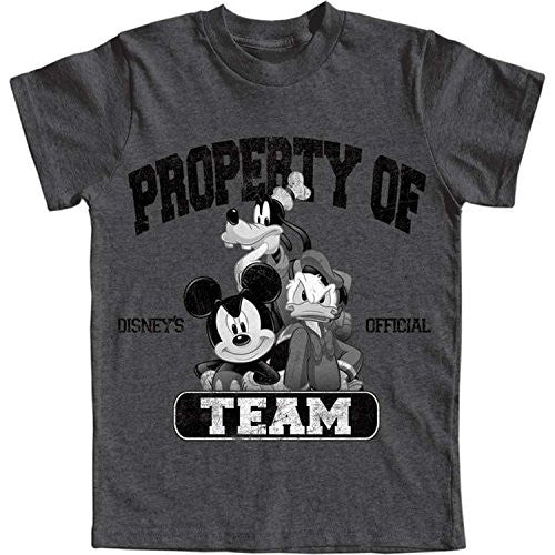 Disney Boys Property of Mickey Mouse Goofy Donald T Shirt - SHOPME.COM