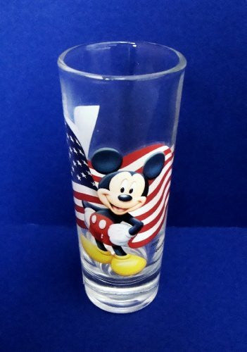Disney Mickey Mouse with USA Flag Toothpick Holder/Shot Glass