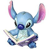 Disney Traditions by Jim Shore Stitch with Book Stone Resin Figurine … - SHOPME.COM