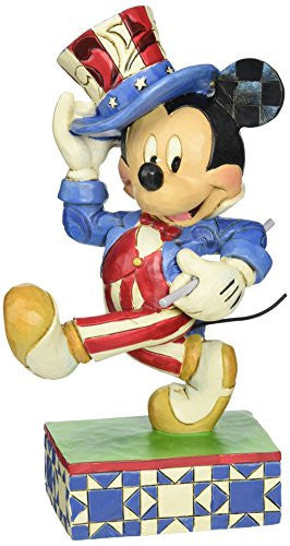Enesco Disney Traditions by Jim Shore Yankee Doodle Mickey Figurine, 7 IN - SHOPME.COM