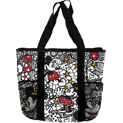 Disney Mickey Minnie Mouse Lace Mesh Tote Bag - SHOPME.COM