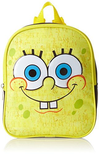 Nickelodeon Little Boys' SpongeBob Cork Mini 10 Inch Backpack, Multi, One Size - SHOPME.COM