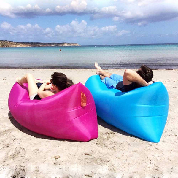 "BESTSELLER! Inflatable Beach Bed - ""The Lounger"""