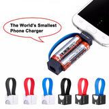 World's Smallest Portable Phone Charger