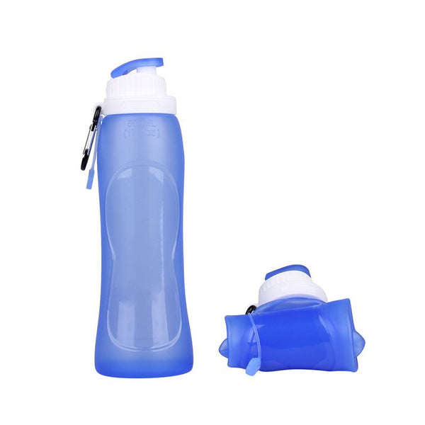 Eco-Friendly Foldable Silicone Water Bottle
